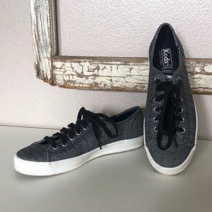 Keds Kickstart Canvas Lace-up Sneaker